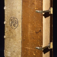 A bound volume containing four rare first editions of books by Paracelsus, one of the most influential medical authors of the 16th century. The Huntington Library, Art Collections, and Botanical Gardens.