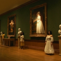 Performers in the portrait gallery