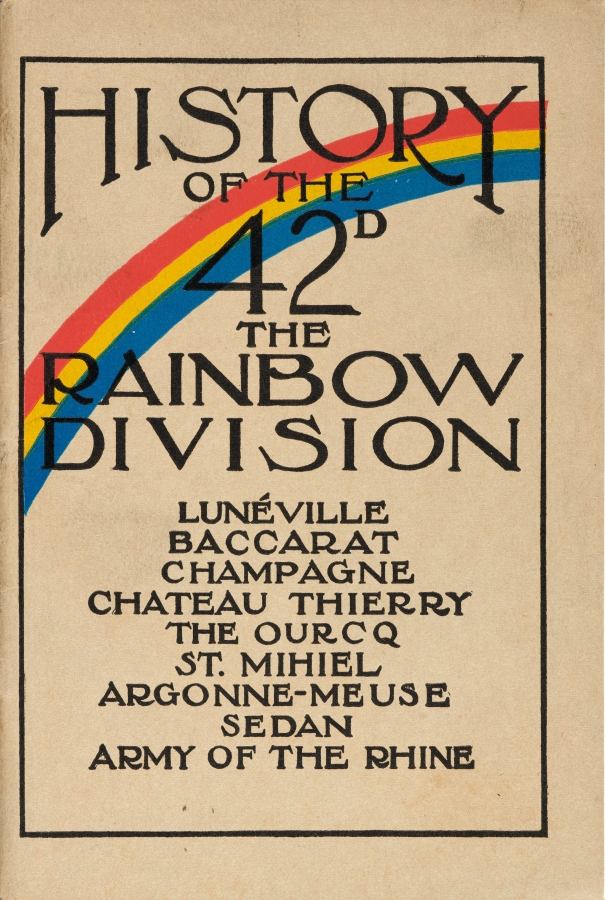 Walter B. Wolf, A Brief Story of the Rainbow Division, 1919. New York: Rand, McNally. The Huntington Library, Art Collections, and Botanical Gardens.