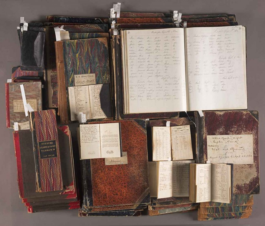The Archives of Thomas T. Eckert, 1862–1877, an extensive collection of Civil War telegraph messages. Huntington Library, Art Collections, and Botanical Gardens.