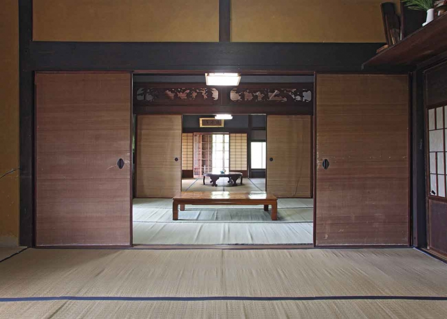 Interior of the Magistrate's House, built in the 1690s. The historic home of the Yokoi family of Marugame, Japan, has been given to The Huntington. Photo by Hiroyuki Nakayama. The Huntington Library, Art Collections, and Botanical Gardens