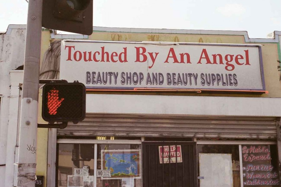 SON. (Justen LeRoy), Touched By An Angel, 2008, digital image. Courtesy of the artist. Photo: Russell Hamilton