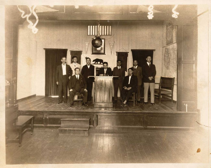 Y. C. Hong and the Chinese American Citizens Alliance, 1928. The Huntington Library, Art Museum, and Botanical Gardens.