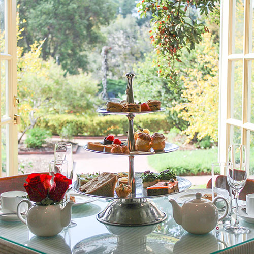 rose garden tea room