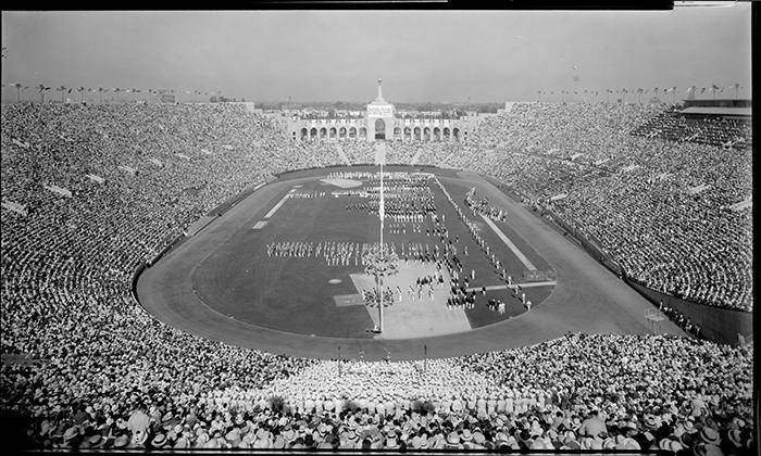 Αποτέλεσμα εικόνας για Los Angeles Memorial Coliseum 1932