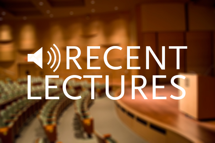 recent-lectures