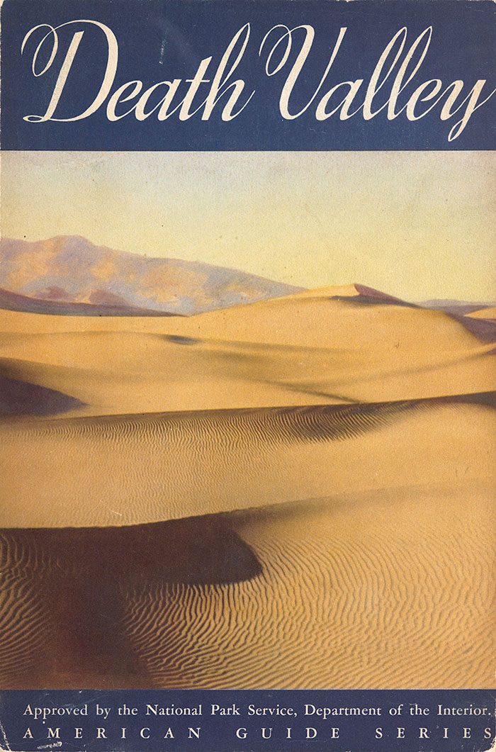 Federal Writer's Project, Death Valley: A Guide, cover, 1939. The Huntington Library, Art Collections, and Botanical Gardens.