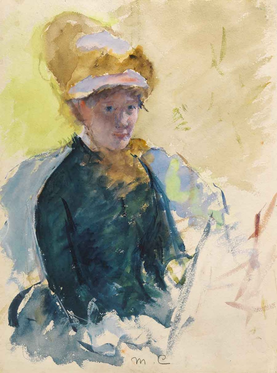 Self-portrait of Mary Cassatt