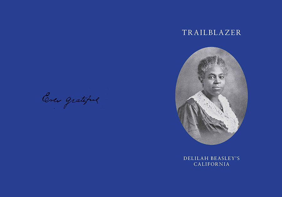 "Johnson's short story, along with a biographical essay of Beasley, is included in a limited-edition publication, Trailblazer: Delilah Beasley's California, published by Clockshop and The Huntington. A copy of the book will be on display as part of the upcoming exhibition ""Beside the Edge of the World."""