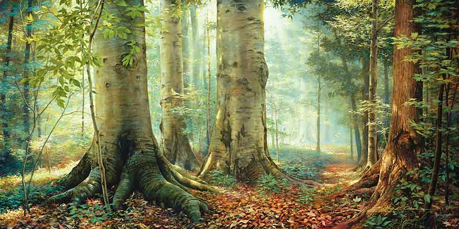 Greg Olsen, Sacred Grove. Used with permission.
