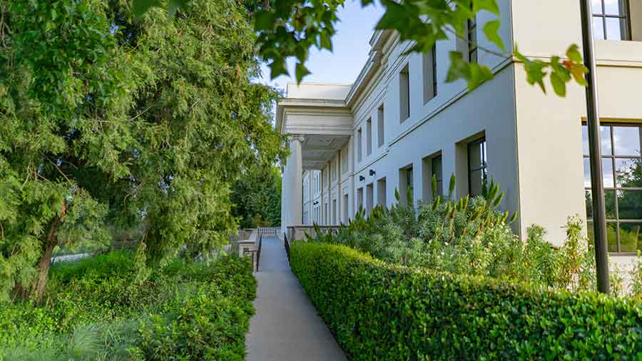 There will be 16 long-term and short-term fellows pursuing research at The Huntington during the 2020-21 academic year. Photo by Aric Allen.