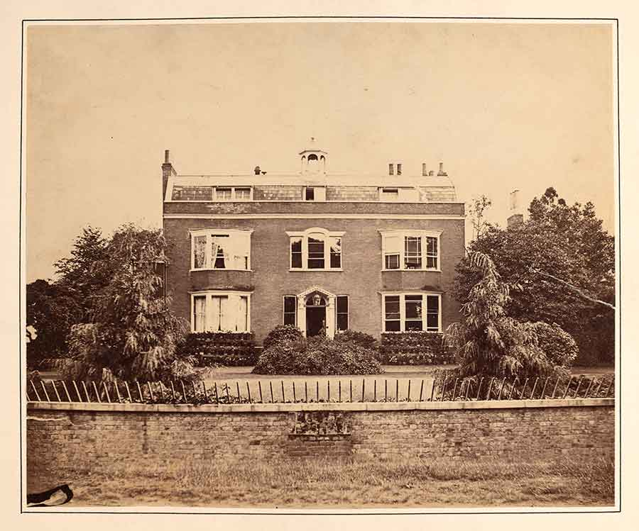 Photograph of Charles Dickens house at Gads Hill