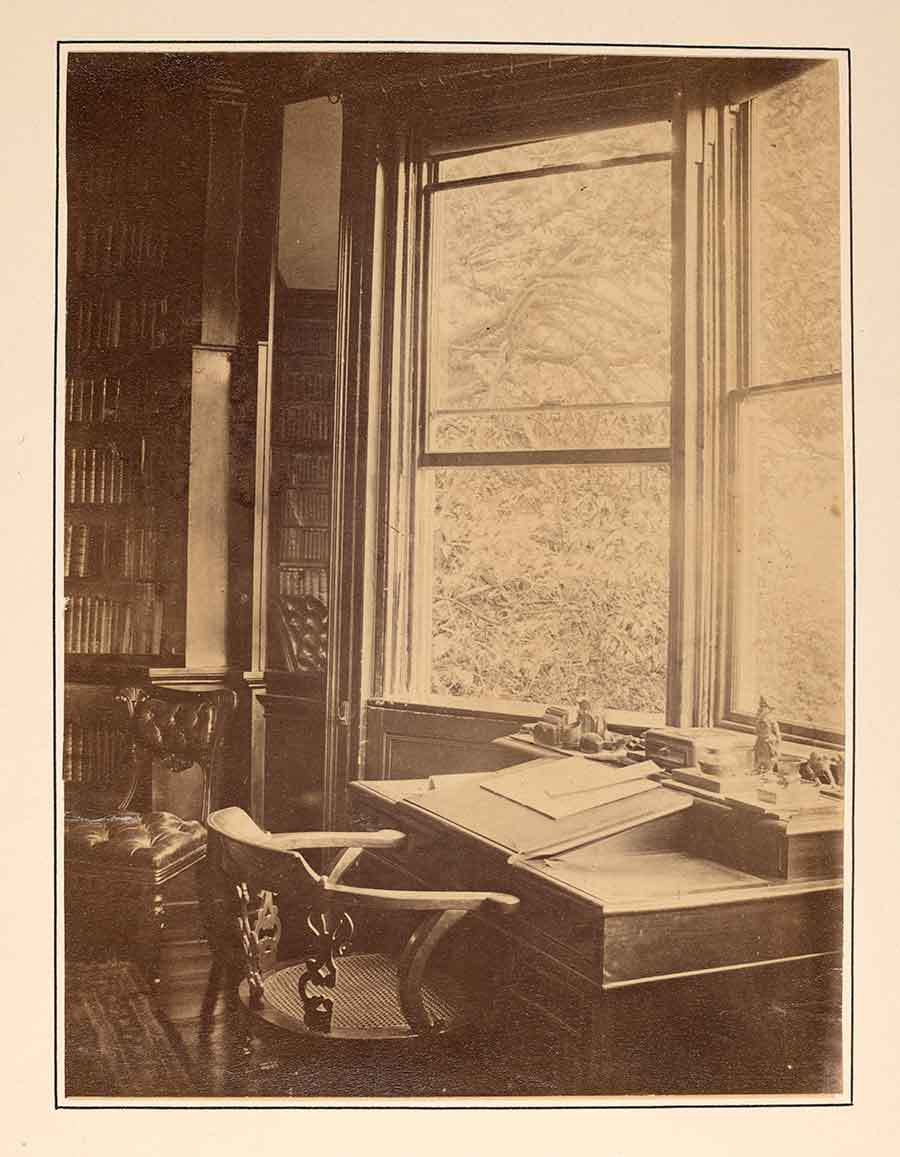 The study in Dickens's Gad's Hill house