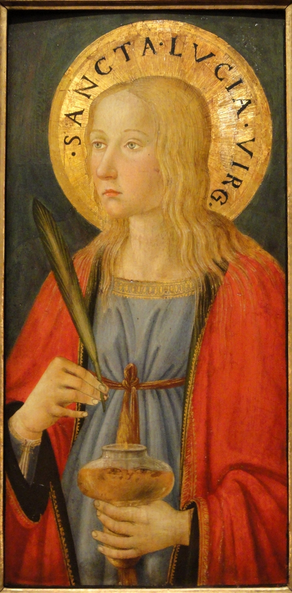 Painting of Saint Lucy
