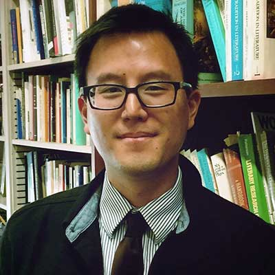Fuson Wang, Assistant Professor, English, University of California, Riverside